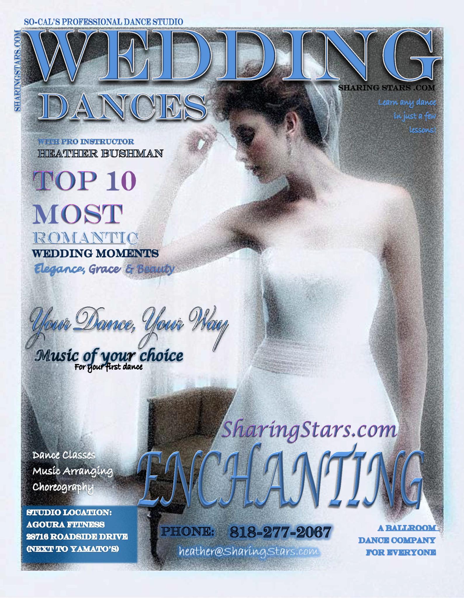 Wedding, Ballroom Dance Lessons, Agoura Hills, Oak Park, Thousand Oaks, Westlake Village, Sherman Oaks, Dance Lessons